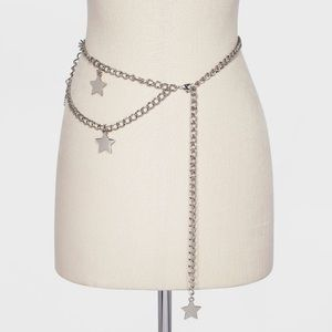 wild fable stair chain layered belt